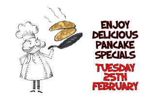 PANCAKE SPECIALS MENU – AVAILABLE ALL DAY!